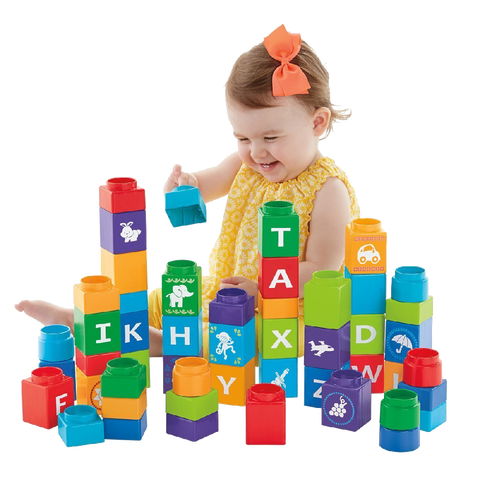 Fisher Price Shakira First Steps Collection Stack'n Learn Alphabet Blocks