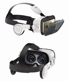 3D PRO Virtual Reality Headset & Stereo Headphone