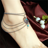 Bohemian Chain Anklet