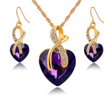 Gold Plated Jewelry Set
