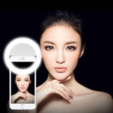 Portable LED Selfie Ring Light for Phones