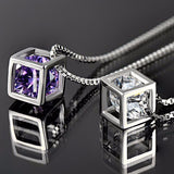 Rubik Cube Luxury Crystal Box Jewelry