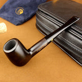 Ebony Tobacco Pipe