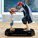 One Piece Anime Straw Hat Luffy & Shanks