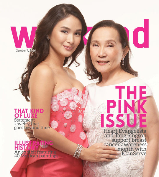 Style Weekend Cover featuring Heart Evangelista and Tang Singson, Oct 2016 Issue