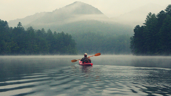 Mindfulness While Kayaking