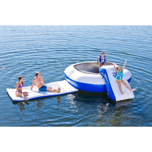 Aquaglide Aquaparks Aquaglide Malibu Aquapark Inflatable 8 Person Water Park