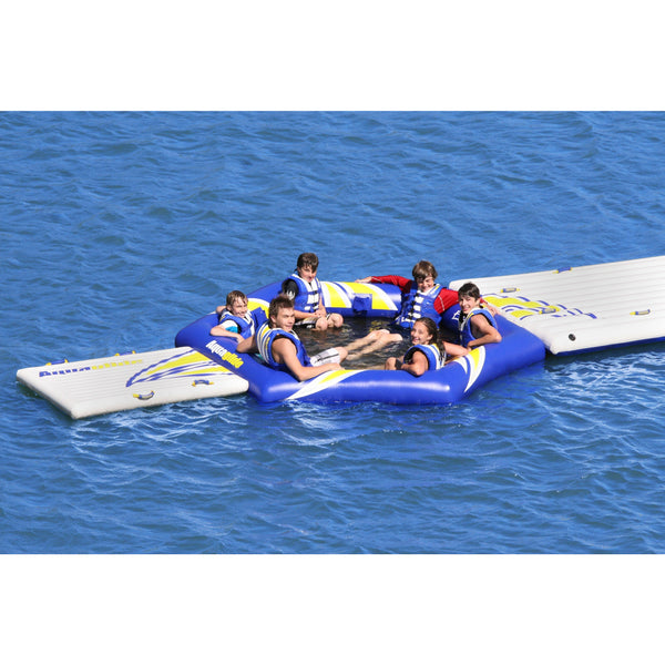 Aquaglide Lounges & Floats Aquaglide Fiesta Inflatable Aqua Lounge Soaker And Platform