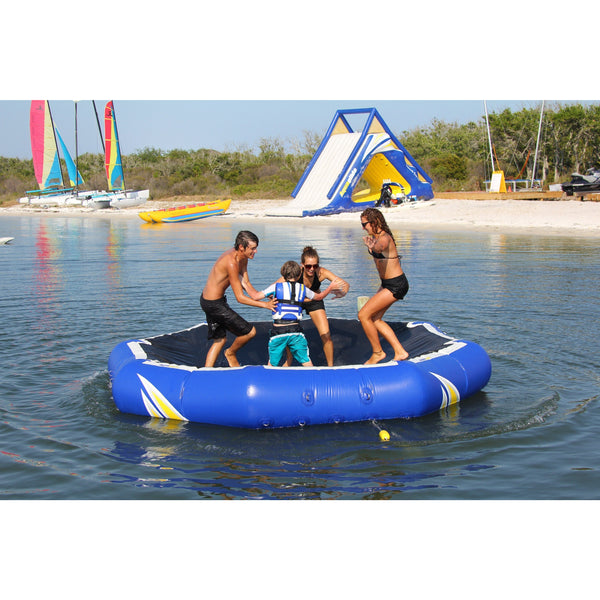 Aquaglide Lounges & Floats Aquaglide Inversible Inflatable Aqua Lounge Soaker And Platform