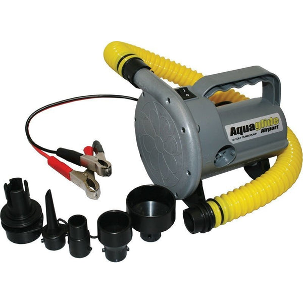 Aquaglide Pump Aquaglide 12V Turbo Electric Pump for Kayaks, Floats and Lounges