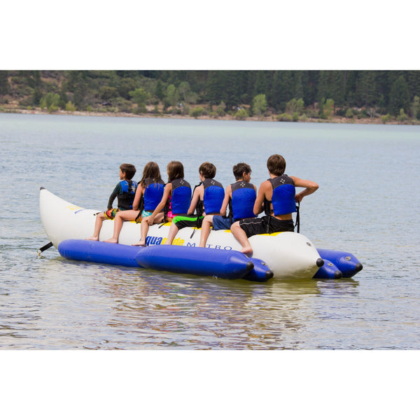 Aquaglide Towable Aquaglide Metro 3 - 3-Person Inflatable Towable Banana Free Tow Rope