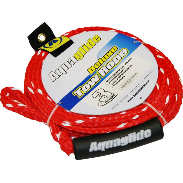 Aquaglide Towable Aquaglide Spitfire 70 3-Person Inflatable Towable Ski Tube with Free Tow Rope