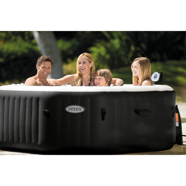 intex jet massage spa 6 person octagonal freedom inflatables. Black Bedroom Furniture Sets. Home Design Ideas