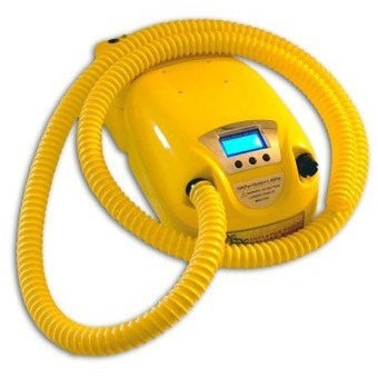 Island Inflatables Pump Island Inflator Deluxe Electric Pump - 12V with Built-In Battery