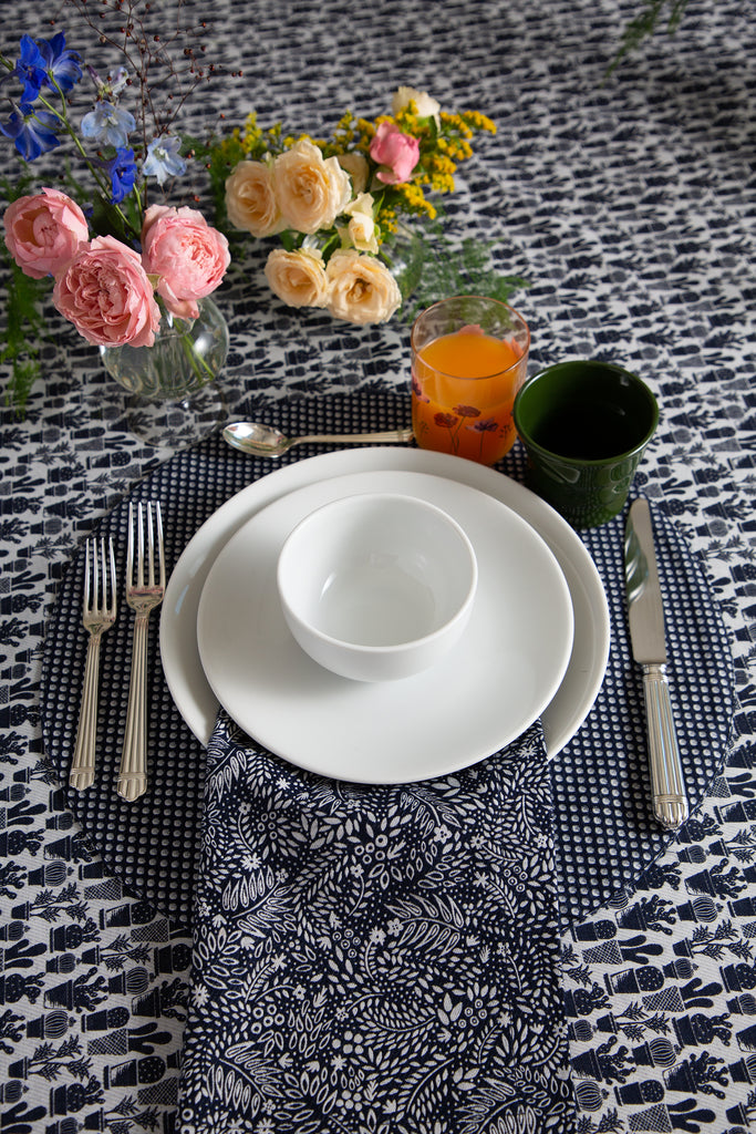 *KAGE PRE-ORDER 1 Week* Floral Table Napkin