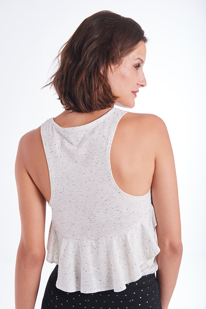 Tank Top with a frill
