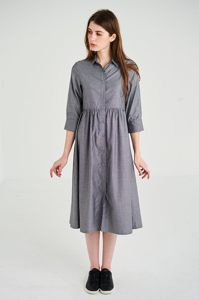 The Meow Shirt Dress