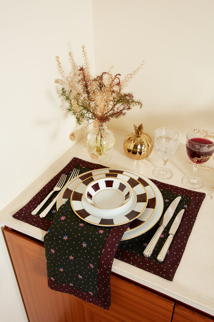 Multicolor Star Placemat