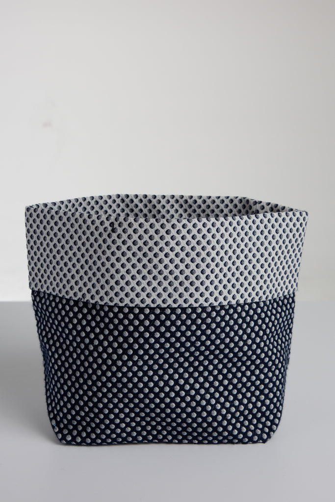 Polkadots Fabric Basket