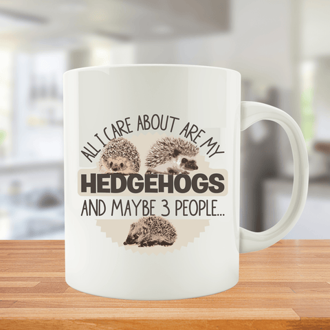 All I Care About Are My Hedgehogs And Maybe 3 People...