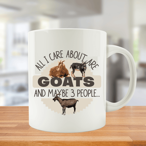 All I Care About Are My Goats And Maybe 3 People...