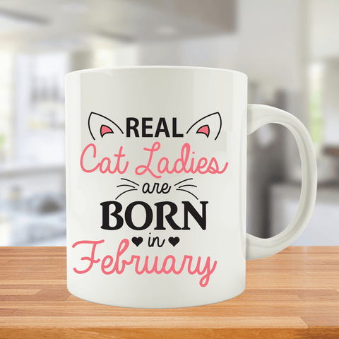Cat Ladies are Born in February