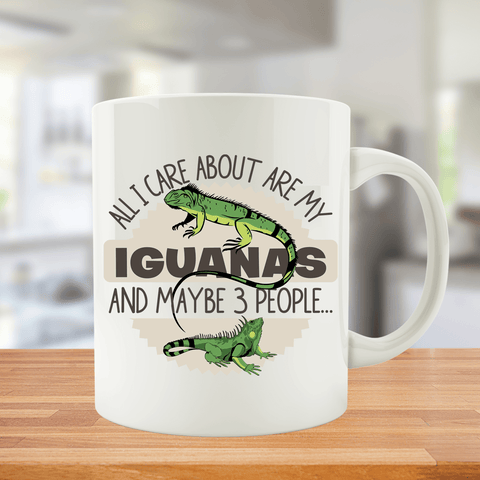All I Care About Are My Iguanas And Maybe 3 People...