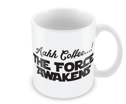 Aahh Coffee...! The Force Awakens