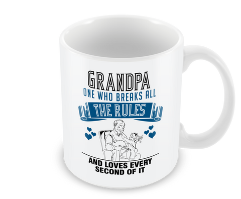 Grandpa - One Who Breaks All the Rules and Loves Every Second of It