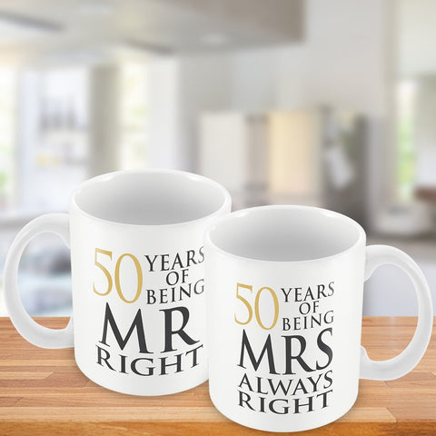 50 Years Of Being MR. and MRS. Right