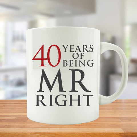 40 Years Of Being MR. and MRS. Right