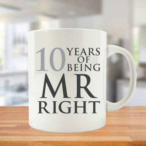 10 Years Of Being MR. and MRS. Right