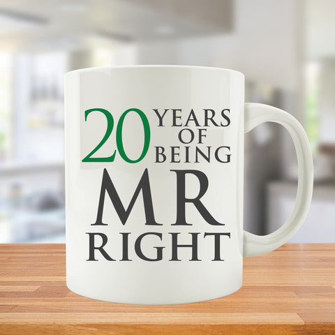 20 Years Of Being MR. and MRS. Right