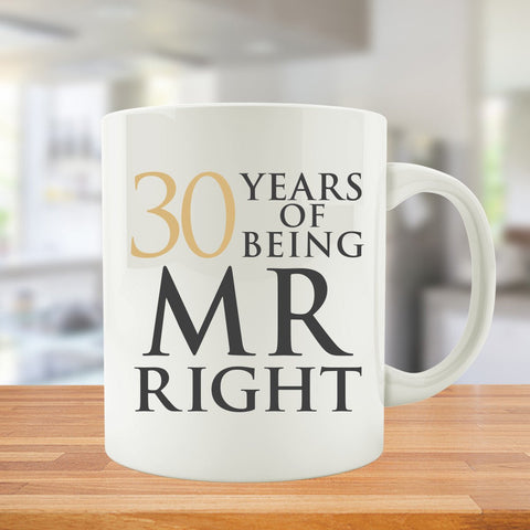 30 Years Of Being MR. and MRS. Right