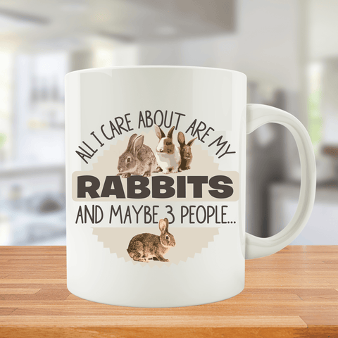 All I Care About Are My Rabbits And Maybe 3 People...