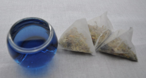 Lemongrass and Butterfly Pea Tea