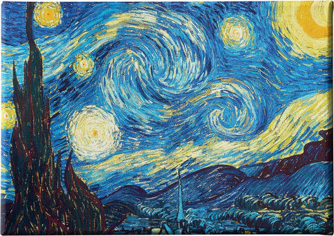 Canvas Frame from, Decoration Space,The Starry Night,