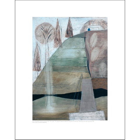 Francis Butterfield Mini Print: Yorkshire Landscape