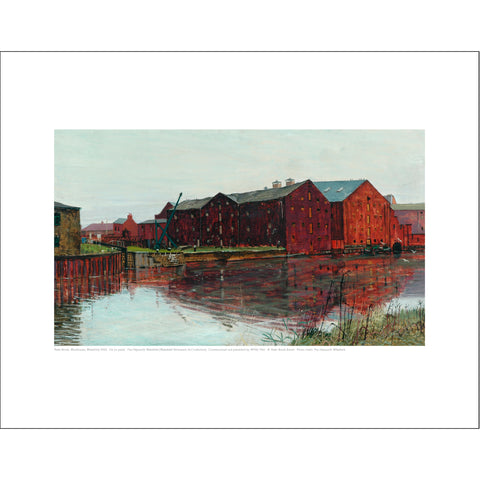 Peter Brook Mini Print: Warehouses