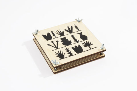 Flower Press by Studio Wald