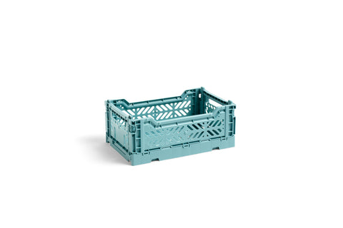 Teal Small Crate