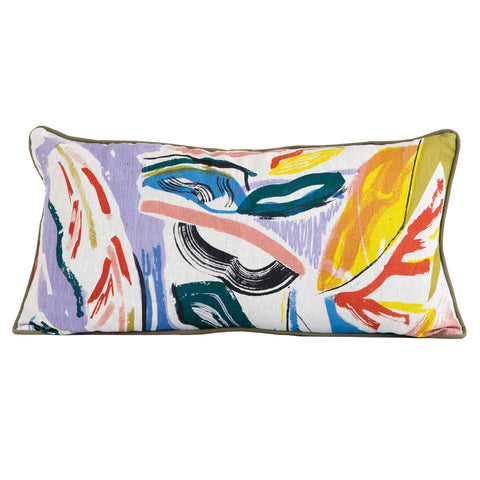 Pampas Cushion by Laura Slater