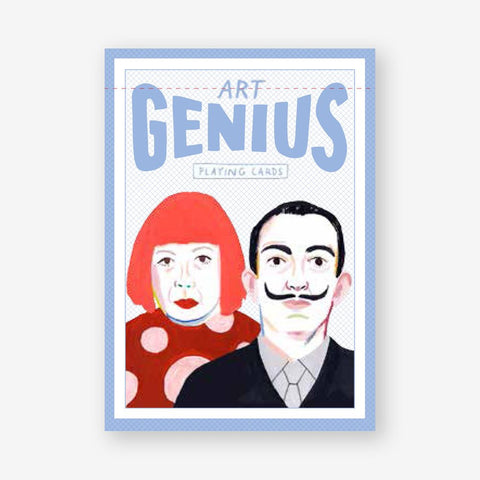 Art Genius Playing Cards