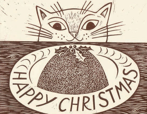 Christmas Cat Christmas Card Pack