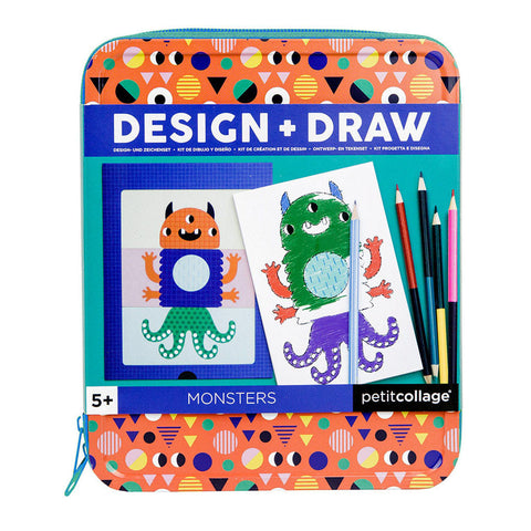 Design and Draw - Monsters