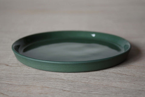 Forest Green Small Plate by Emma Johnson