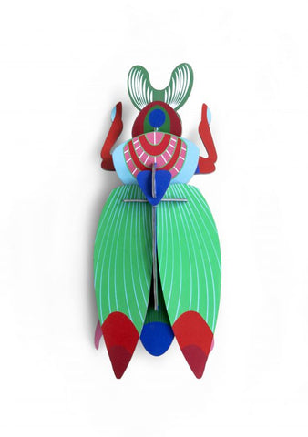 Giant Scarab Beetle Wall Decoration