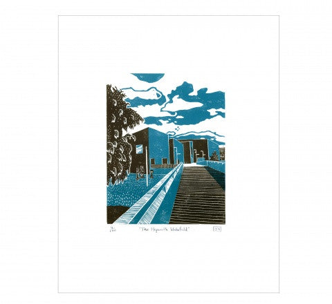 Hepworth Wakefield Print by James Green