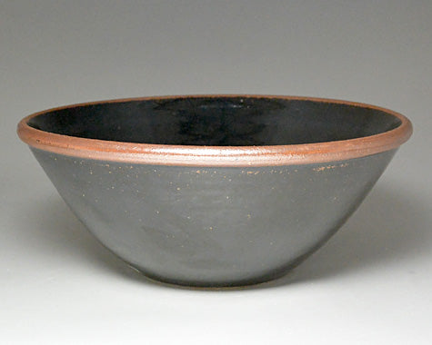 X Large GP Bowl (Tenmoku) by Leach Pottery