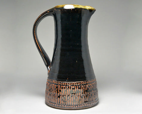 Large Jug (Tenmoku) by Leach Pottery